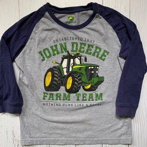John Deere long sleeve tee